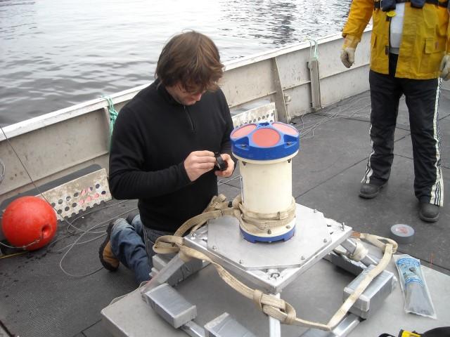 Courantométrie et mesure des marées